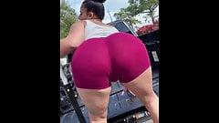 hot big booty twerking comp