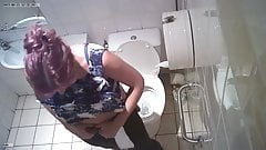 French girl spied in toilets at mall 1