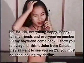 Thai LIE - Girl lying to her boyfriend when he calls her