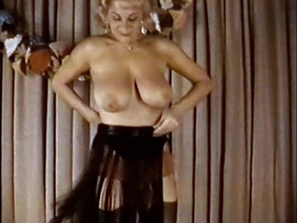 Vintage big boobs, glamorous teasing classics 9