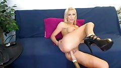 Busty pornstar Britney Foster sex machine cam