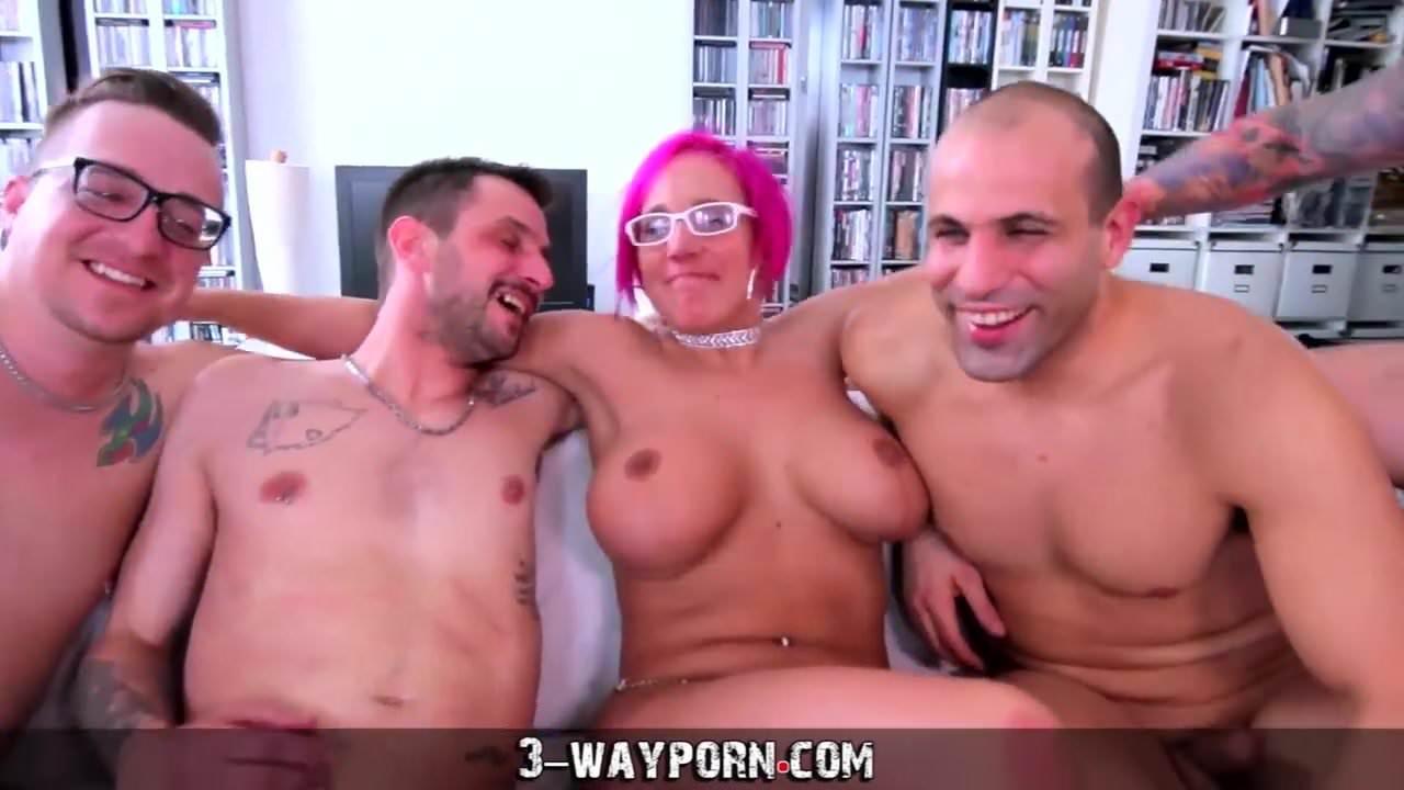 3 way porn