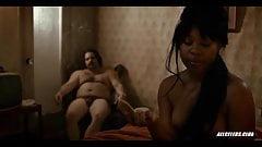 Dominique Fishback in The Deuce - S01E01's Thumb