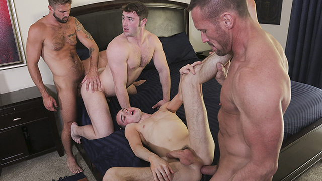 FamilyDick – Sexy Daddys Swap Stepsons For A Household Orgy