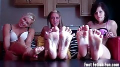 You love our feet