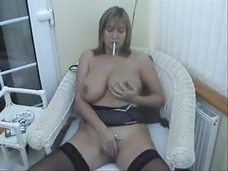 big tits smoking 3of3