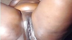 Shaved black pussies