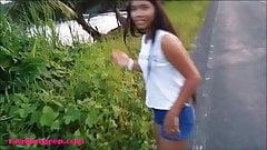 HD Heather Deep flashing on highway then gives public deepth