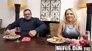 Mofos - Pornstar Vote - Housewife Fucks on Kitchen Floor sta