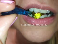 Vore Fetish - Diana Eating Gummy Part4 Video1