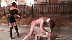Good Slave Get Reward - Painful Game with French Dominatrix