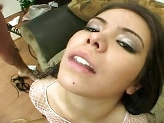 Preview 6 of Jessi Castro Is A Cum Thirsty Teen DP Whore