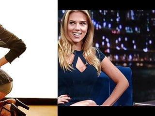 Jessica Alba Vs Scarlett Johansson Rd  Jerk Off Challenge