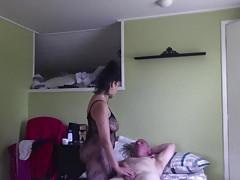 Swedish amateur mature couple blowjob