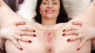 Horny mommy masturbating