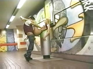 Anal sex in the metro station!
