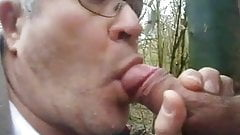 mature blowjob and fucked in cruising