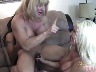 Preview 5 of After A Good Muscle Fuck Cums The Handjob