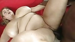 WHITE BBW GETTING FUCKED BY BBC