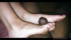 Arched Feet Soles Domination Footjob