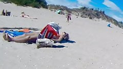 Nudist incredible Cap Agde sex beach