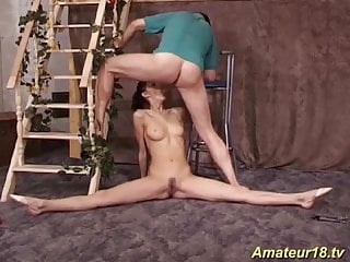 flexi sex with young skinny gymnast