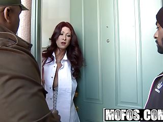Preview 1 of Milfs Like It Black - Door to Door Dick starring  Tiffany My