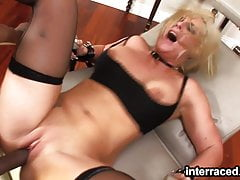 Insatiable Melissa gets her ass eaten and pounded by a BBC's Thumb