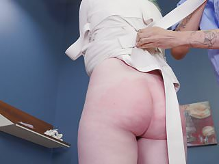Big-ass brat girl gets punished with cock and man feet