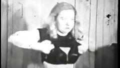 voluptuous blonde unlicensed to fuck - circa 40s
