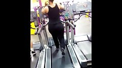 pears on treadmill combo