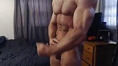 AustinLongjack webcam touching & showing hot b