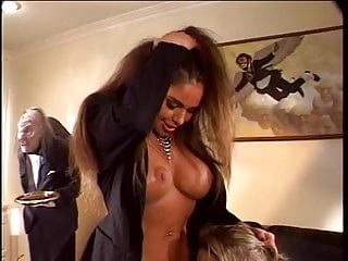 Sexy brunette gets her tight pussy licked and fucked