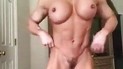 muscle woman amateur video