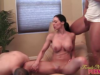 Kendra Lust gets muscle worship and penetration