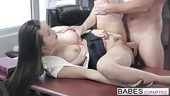 Babes - Office Obsession - Sharon Lee and Viktor Solo - Dirt