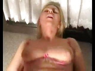 Pierced milf in stocking anal creampie