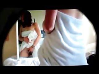 Teen masturbates on secret cam