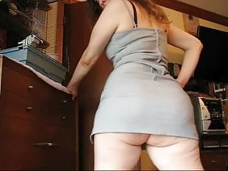 Big Ass In Dress Shaking Sexy Cellulitis