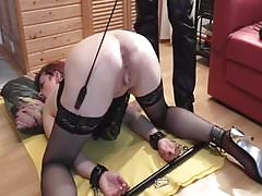 LittleKissMuffin: Sub Slut Fisted and Punch Orgasm