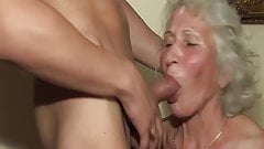 hairy granny in her first porn video's Thumb