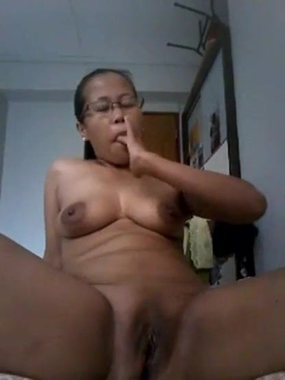 Late night frenzied masturbation with her own spit