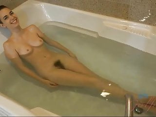 Tali Dova S Hairy Pussy Catches All Of Your Cum On The Date
