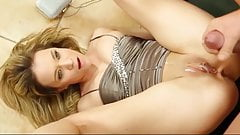 Cumming on Satin-clad Babes Compilation, Part 2 of 3