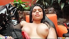 Awesome tranny Sofia with perfect body