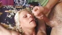 blonde mature anal slut
