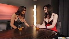 Eva Lin and Jessy Dubai fuck each other