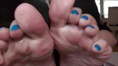 Blue Toes MILF