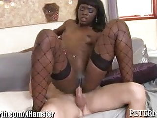 Ana Foxxx gets 1 Black Cock and 1 White Cock