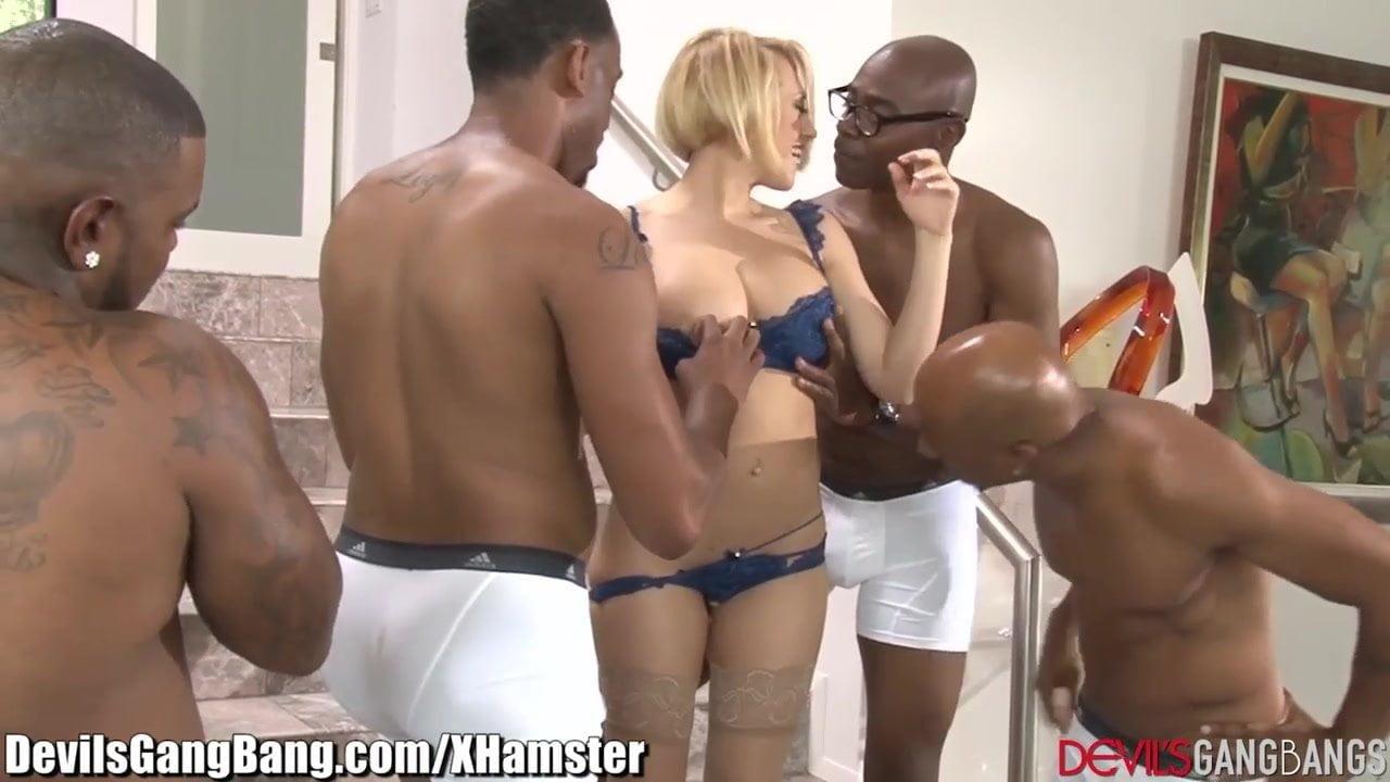 Xhamster interracial gangbang